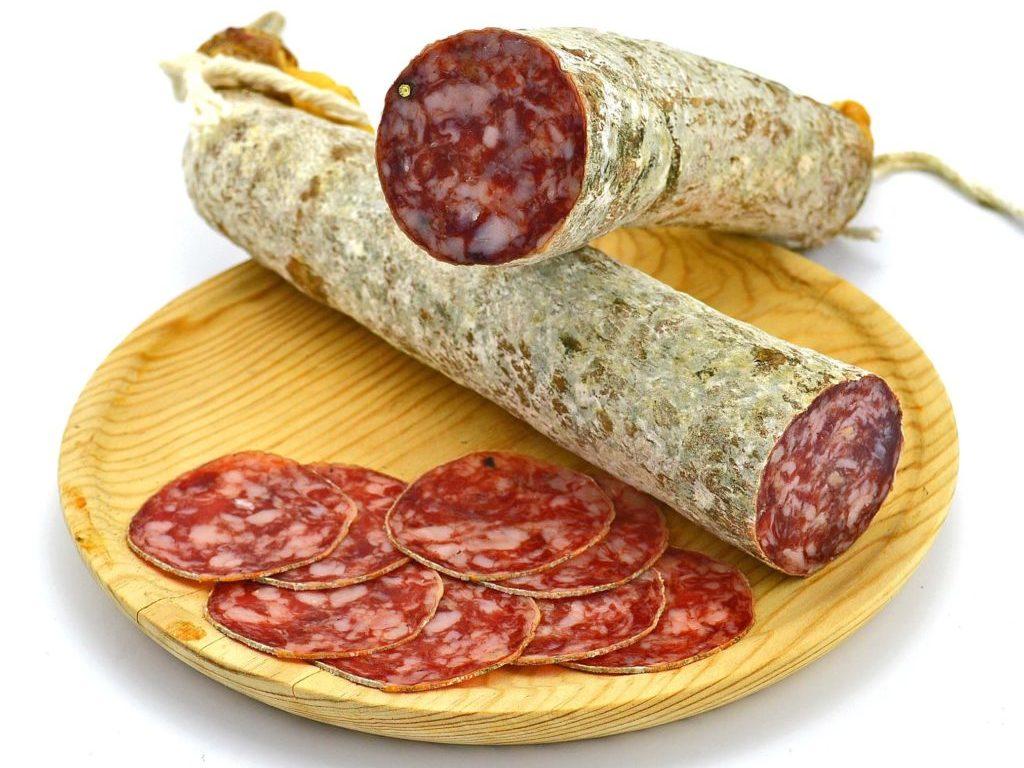 salchichon spaanse salami